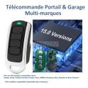 Télécommande portail & garage compatible multi-marques